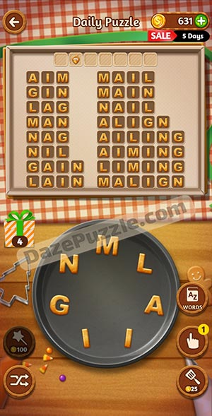 word cookies november 21 2020 daily puzzle answer