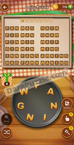 word cookies november 30 2020 daily puzzle answer