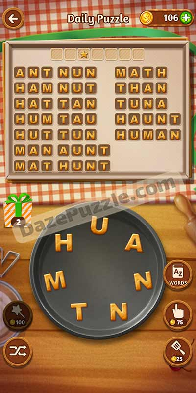 word cookies november 5 2020 daily puzzle answer