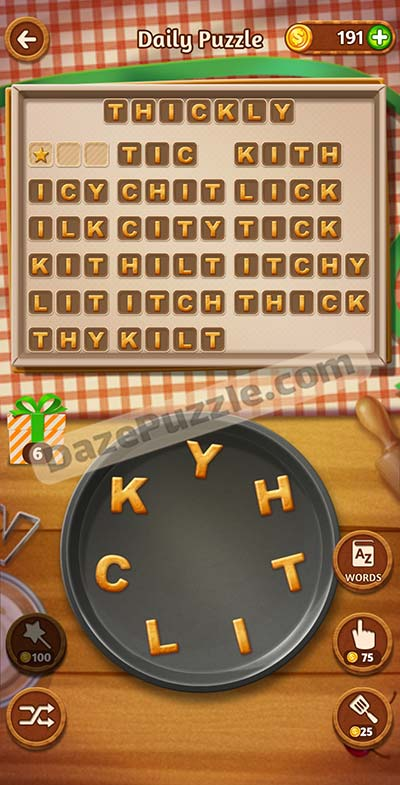 word cookies november 8 2020 daily puzzle answer