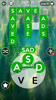 wordscapes level 13 answer