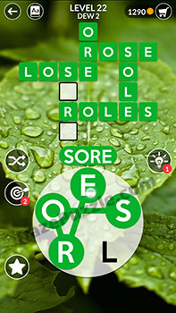wordscapes level 22 answer