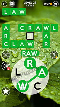 wordscapes level 28 answer
