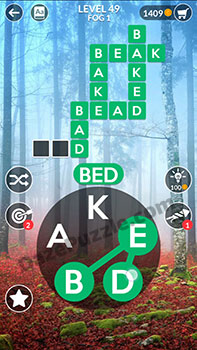 wordscapes level 49 answer