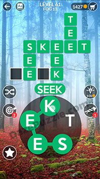 wordscapes level 61 answer