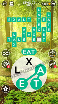 wordscapes level 72 answer