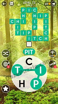 wordscapes level 73 answer