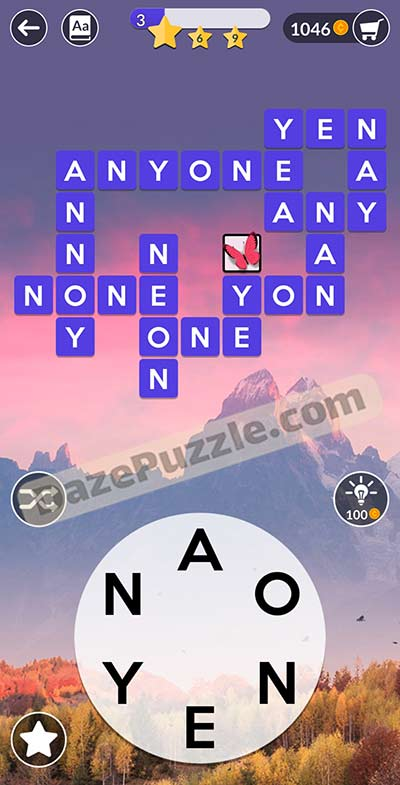 wordscapes november 10 2020 daily puzzle answer