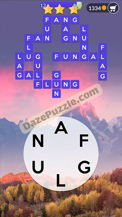 wordscapes november 2 2020 daily puzzle answer