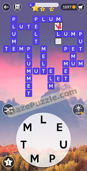wordscapes november 22 2020 daily puzzle answer