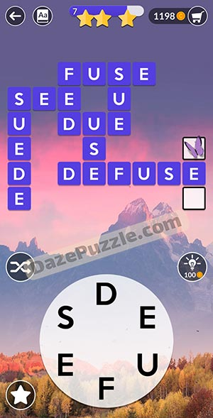 wordscapes november 30 2020 daily puzzle answer