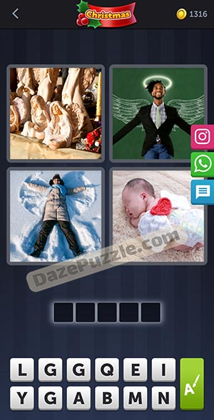 4 pics 1 word december 23 2020 daily puzzle answer