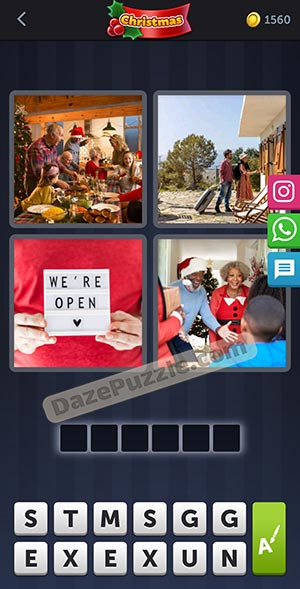 4 pics 1 word december 27 2020 daily bonus puzzle answer