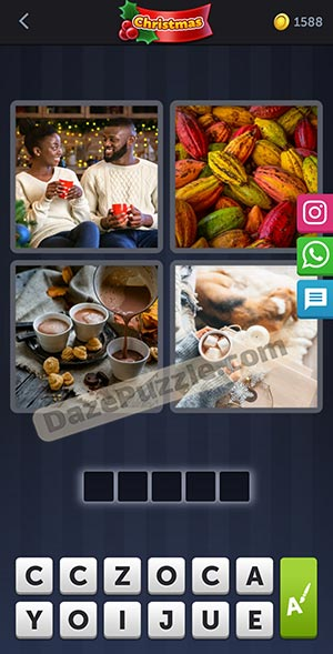 4 pics 1 word december 28 2020 daily puzzle answer