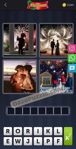 4 pics 1 word december 31 2020 daily puzzle answer
