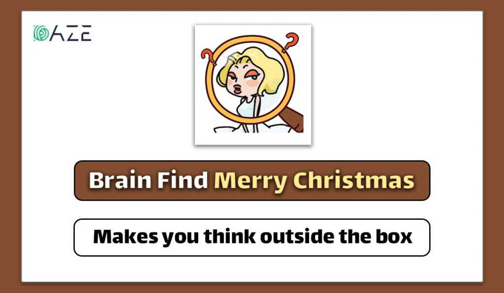 brain find merry christmas