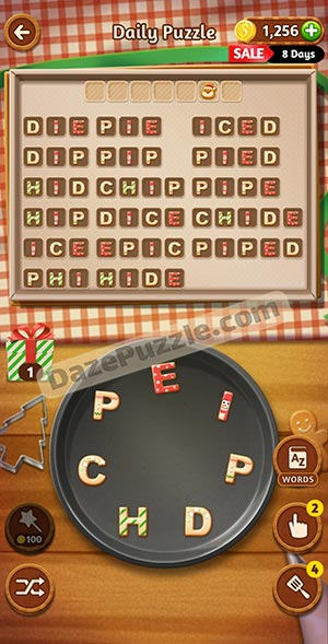 word cookies december 17 2020 daily puzzle answer