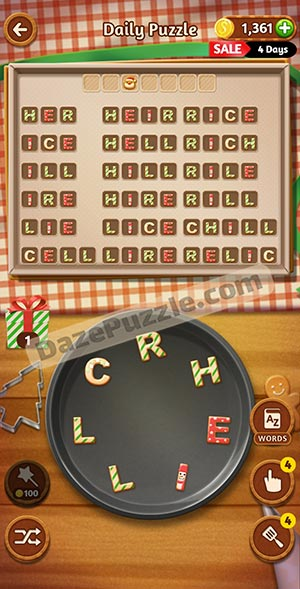 word cookies december 21 2020 daily puzzle answer