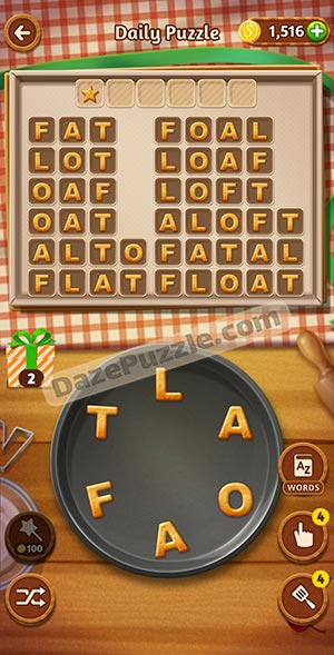 word cookies december 26 2020 daily puzzle answer