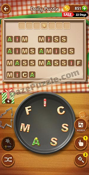 word cookies december 3 2020 daily puzzle answer