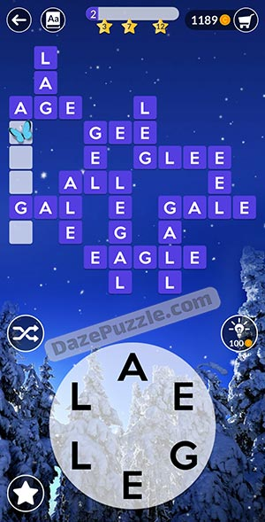 wordscapes december 17 2020 daily puzzle answer