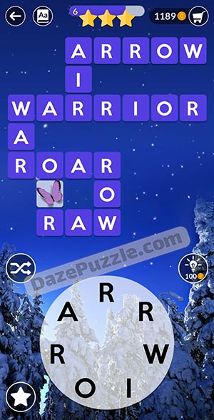 wordscapes december 18 2020 daily puzzle answer