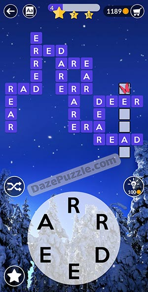 wordscapes december 19 2020 daily puzzle answer