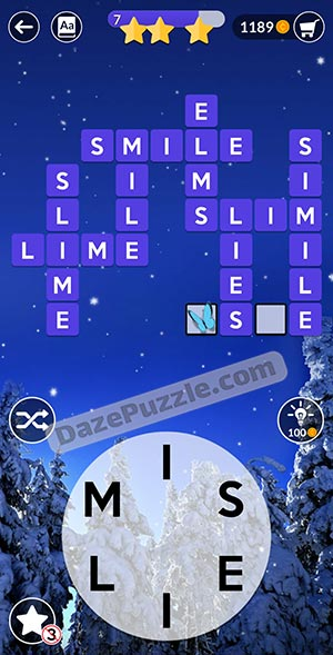 wordscapes december 20 2020 daily puzzle answer