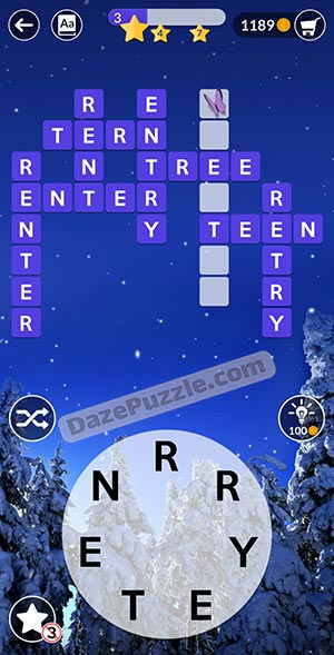 wordscapes december 23 2020 daily puzzle answer
