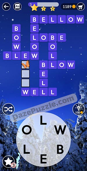 wordscapes december 25 2020 daily puzzle answer
