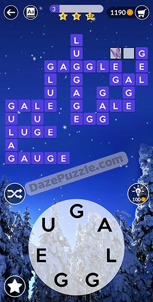 wordscapes december 27 2020 daily puzzle answer