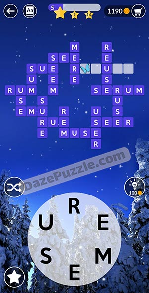 wordscapes december 28 2020 daily puzzle answer