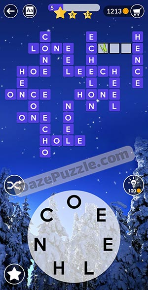 wordscapes december 3 2020 daily puzzle answer