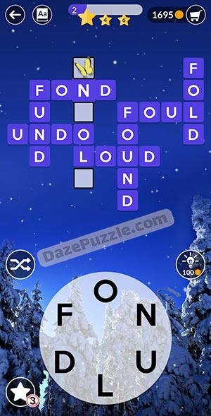 wordscapes december 31 2020 daily puzzle answer