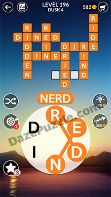 wordscapes level 196 answer