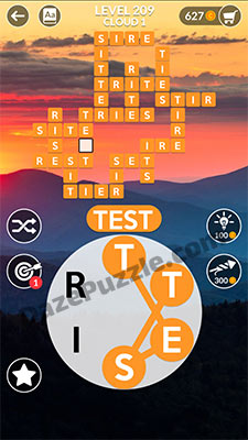 wordscapes level 209 answer