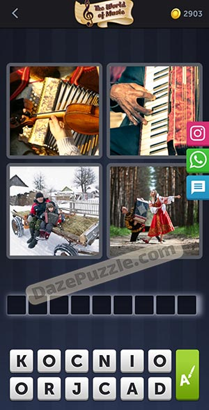 4 pics 1 word january 12 2021 daily puzzle answer