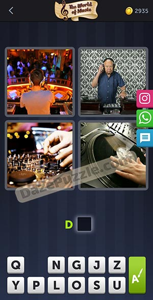 4 pics 1 word january 13 2021 daily puzzle answer