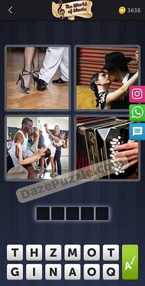 4 pics 1 word january 26 2021 daily puzzle answer
