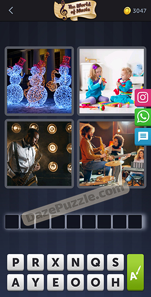 4 pics 1 word january 9 2021 daily puzzle answer