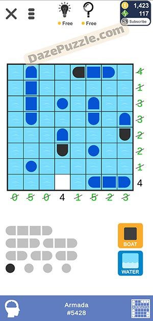 Puzzle page Armada January 14 2021 daily puzzle answer