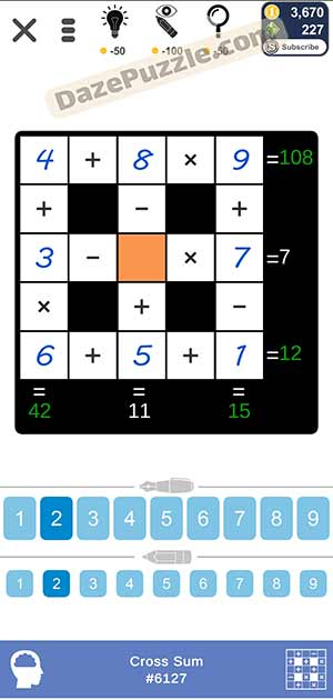Puzzle Page Cross Sum February 1 2021 Answers