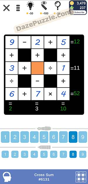 Puzzle Page Cross Sum January 31 2021 Answers