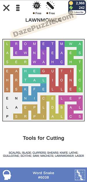 puzzle page word snake january 27 2021 daily puzzle answer