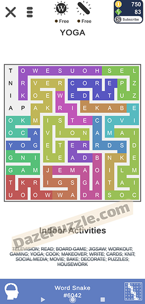 puzzle page word snake january 9 2021 daily puzzle answer