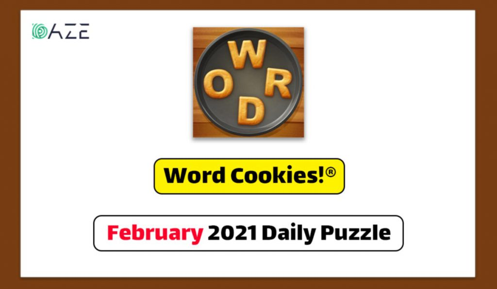 word cookies february 2021 daily puzzle