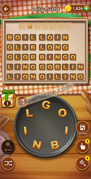 word cookies january 6 2021 daily puzzle answer