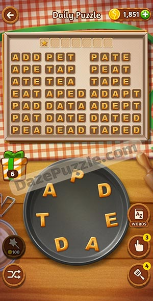 word cookies january 7 2021 daily puzzle answer