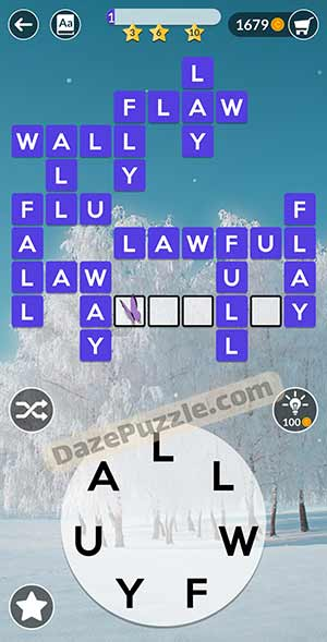 wordscapes February 1 2021 daily puzzle answer