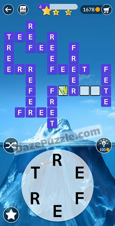 wordscapes january 22 2021 daily puzzle answer